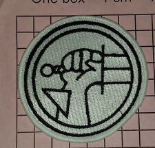 2062 Hellboy Bureau for Paranormal Research  Defence  Iron-on  embroidered patch
