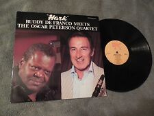 Buddy De Franco Meets Oscar Peterson Hark LP Jazz Classic Pablo 2310-915 VG+