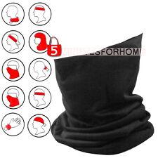 Fascia Scaldacollo Sciarpa Maschera Microfibre Trasformabile Cappello Sci