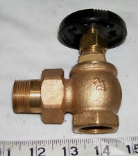 "Legend 3/4"" Hot Water Steam Radiator Angle Valve Brass  ***FREE SHIPPING***"