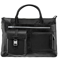 Piquadro Frame black Ladies Expandable Briefcase/Office bag CA1618FR/N