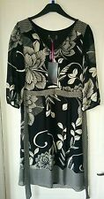Ex Peruna Dress M & S dress BNWT RRP £49.50 sz 8 black & white Gorgeous