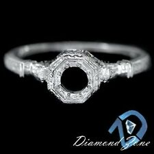 VINTAGE SOLITAIRE ENGAGEMENT SETTING DECO MOUNTING RING