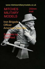 200mm (1/9)  Bust- ACW OFFICER IRON BRIGADE by CARL REID