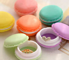 6PCS Mini Earphone SD Card Macarons Bag Storage jewelery Box Case Carrying Pouch