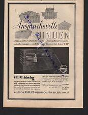 BERLIN, Werbung 1935, Deutsche Philips GmbH