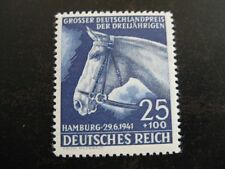 THIRD REICH 1941 mint Blaues Band Horse Race stamp! **99 CENT SPECIAL**