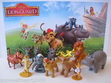 Disney Junior THE LION GUARD MOVIE 12 PC Figure Play Set Kion Fuli King Simba