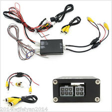 Front Rear R/L 360° Parking View 4 Way Camera Video Switch Combine Control Box