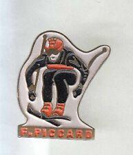 RARE PINS PIN'S .. OLYMPIQUE SKI SKIING  FRANCK PICCARD ALBERTVILLE 1992 ~AQ