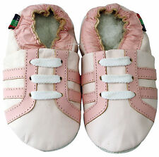 shoeszoo sports light pink 0-6m S soft sole leather baby shoes