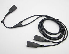 Jabra / GN Netcom Headset Y Training Supervisor Cable (Both Sides Live) no MUTE
