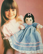 SEWING PATTERN Jean Greenhowe Turnabout Dolly Toy Doll Crying Dress PATTERN