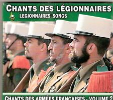 CHANTS   des   ARMEES   FRANCAISES     VOLUME  2     CHANTS  des  LEGIONNAIRES