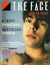 THE FACE #52 August 1984 IAN McCULLOCH Suzy Bic THOMAS DOLBY Echo & the Bunnymen