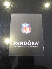 Pandora NFL Football authenticity verification card Charm Authentic