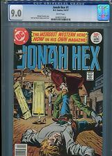 Jonah Hex #1  (First Print)   CGC 9.0  White Pages