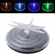 1 x Solar Power Dragonfly Colour Changing Garden Pond Floating LED Lights
