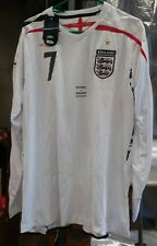 RARE NWT Authentic Umbro 2007 England Beckham player issue Game shirt Jersey XL
