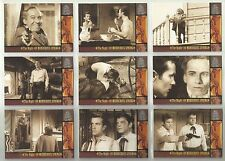 "1999 The Wild, Wild West: Season 1 ""Complete Base Set"" of 100 Cards (1-100) HTF!"