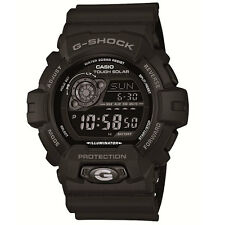 Mens Casio G-Shock Tough Solar all black digital watch GR-8900A-1ER