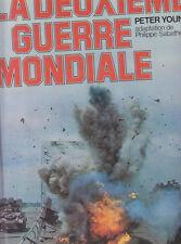 C1 Young LA DEUXIEME GUERRE MONDIALE Epuise GRAND FORMAT ILLUSTRE Relie
