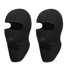 Motorcycle Thermal Fleece Balaclava Neck Winter Ski Full Face Mask Cap Cover Hat