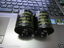 2PCS NEW KENDEIL K05- 22000UF 40V 105C LOW ESR CAPS AUDIO QUAD- NAIM AMP !