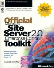 Official Microsoft Site Server 2.0 Enterprise Edition Toolkit : Your Gateway...