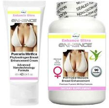 BUST Breast Enlargement Enhancement Cream Capsules Firmer Breasts Lift Firming