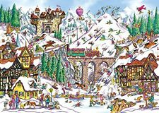 Gibsons Off Piste Jigsaw Puzzle (1000-Piece)