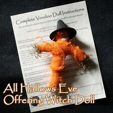 All Hallows Eve Offering Witch Doll Halloween Poppet Love Money Curse Change