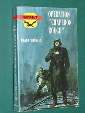 "WWII Opération ""Chaperon rouge"" Franz WINKELS"