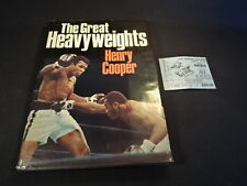 The Great Heavyweights Book & 1974 George Foreman Vs. Muhammad Ali Ticket