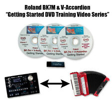 Roland BK-7m & V-Accordion Instructional DVD Series