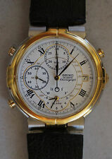 Seiko 7T32-7A09 A4 Alarm Timer Date Chronograph Quartz Watch Age of Discovery