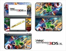 LEGO MARVEL - Vinyl Skin for Nintendo NEW 3DS XL (with C Stick) - réf 197