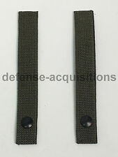 Military MOLLE Replacement Straps 7.5 INCH Tactical Pouch Pack RANGER GREEN