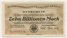 Frankfurt 10 Billionen Mark 1923 - MG.21 (unc)