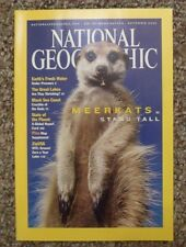 National Geographic 2002 Sept. Meerkats Fresh Water Great Lakes, State of Planet