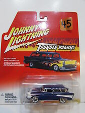 JOHNNY  LIGHTNING 2002 - THUNDER WAGONS - 1957 CHEVY NOMAD