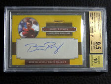 Buster Posey 2008 Razor Signature Series BGS 9.5 Auto 10 Gold #/28 On Card Auto