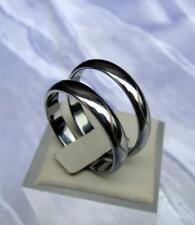 WOLFRAM/TUNGSTEN CARBIDE SMAL RING -3,5 MM BREIT- LASER CUT WELLE  - TITAN HART