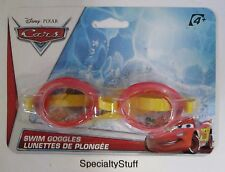 NEW DISNEY PIXAR CARS SWIM GOGGLES 4+ WHAT KIDS WANT! LIGHTNING McQUEEN (QO)