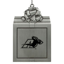 University of Akron -Pewter Christmas Holiday Ornament-Silver