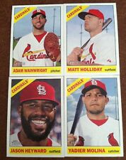 2015 Heritage Master Team Set St Louis Cardinals (21 Cards) W) SP/Inserts Molina