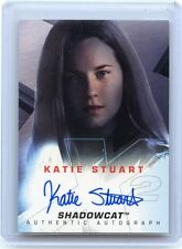 "2003 X-MEN UNITED (NO#) KATIE STUART AUTOGRAPH AUTO, ""SHADOWCAT"", 080114"
