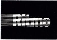 Seat Ritmo 1979 Spanish Market Sales Brochure 65 75 CL Fiat Strada