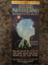 Finding Neverland ad/flyers Broadway  Matthew Morrison Laura Michelle Kelly NYC