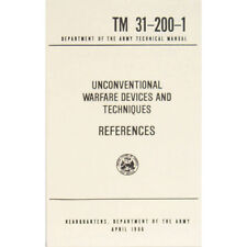 "New U.S. Army Technical Manual ""REFERENCES"" TM 31-200-1 April 1966 Pages 234"